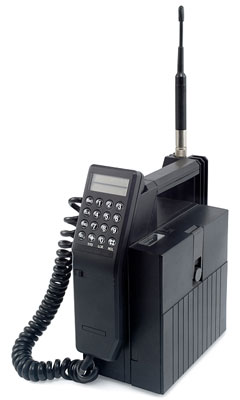 old Nokia cellular phone